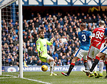 Clint Hill stabs in the second goal for Rangers