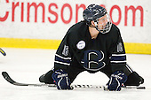 Joe Campanelli (Bentley - 16) - The Harvard University Crimson defeated the visiting Bentley University Falcons 5-0 on Saturday, October 27, 2012, at Bright Hockey Center in Boston, Massachusetts.