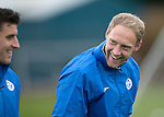 St Johnstone Training&hellip;.14.10.16<br />Steven Anderson and Michael Coulson pictured in training this morning atr McDiarmid Park ahead of tomorrows game against Kilmarnock<br />Picture by Graeme Hart.<br />Copyright Perthshire Picture Agency<br />Tel: 01738 623350  Mobile: 07990 594431