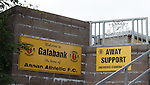 Galabank stadium before the match.