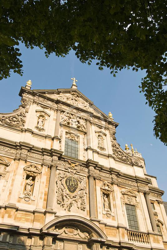 Belgium, Antwerp, Carolus Borromeus Church