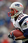 22 October 2006: New England Patriots wide receiver Troy Brown in action against the Buffalo Bills at Ralph Wilson Stadium in Orchard Park, NY. The Patriots defeated the Bills 28-6. Mandatory Photo Credit: Ed Wolfstein Photo.<br />