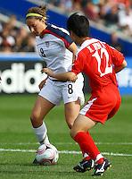 Vicki DiMartino (USA)..FIFA U17 Women's World Cup Final, USA v Korea DPR, Albany Stadium, Auckland, New Zealand, Sunday 16 November 2008. Photo: Renee McKay/PHOTOSPORT