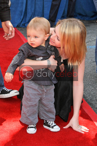 Melissa Joan Hart and son Mason<br />