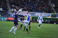 VOETBAL: HEERENVEEN: Abe Lenstra Stadion, 07-02-2015, Eredivisie, sc Heerenveen - PEC Zwolle, Eindstand: 4-0, Joey van den Berg (#21), ©foto Martin de Jong