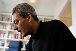 August 8, 2004. New York, New York.. Author Paul Auster discusses his new book and the state of US politics.