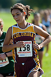 Columbia senior Kelsea Donahue during the Roger Curran Invitational girl's varisty race at West Park in Nampa, Idaho on September 8, 2012. Donahue finished fourteenth in the 4A-5A race with  a time 21:05.10.