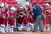 Nebraska at Arkansas softball 3/3/17