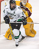 Chris Porter, Kellen Briggs - The University of Minnesota Golden Gophers defeated the University of North Dakota Fighting Sioux 4-3 on Saturday, December 10, 2005 completing a weekend sweep of the Fighting Sioux at the Ralph Engelstad Arena in Grand Forks, North Dakota.