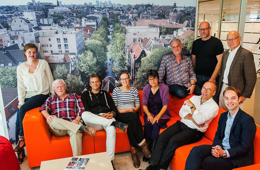 Nederland, Amsterdam, 1 sep 2014<br /> Vergadering Metropoolregio Amsterdam<br /> <br /> Foto: (c) Michiel Wijnbergh