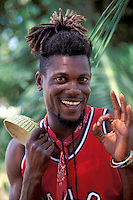 Native man, Grenada, Caribbean