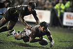 Jon Wilkin nearly scores a try in the dying minutes of the game. Celtic Crusaders V St Helens, Engage Super League. © Ian Cook IJC Photography, 07599826381,  iancook@ijcphotography.co.uk, www.ijcphotography.co.uk