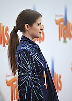 LOS ANGELES, CA. October 23, 2016: Actress Anna Kendrick at the Los Angeles premiere of &quot;Trolls&quot; at the Regency Village Theatre, Westwood.<br /> Picture: Paul Smith/Featureflash/SilverHub 0208 004 5359/ 07711 972644 Editors@silverhubmedia.com