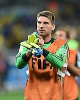 FUSSBALL WM 2014                HALBFINALE Brasilien - Deutschland          08.07.2014 Torwart Ron-Robert Zieler (Deutschland)