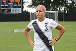 07 September 2014: Penn State's Emily Hurd. The Duke University Blue Devils hosted the Penn State University Nittany Lions at Koskinen Stadium in Durham, North Carolina in a 2014 NCAA Division I Women's Soccer match. PSU won the game 4-3.