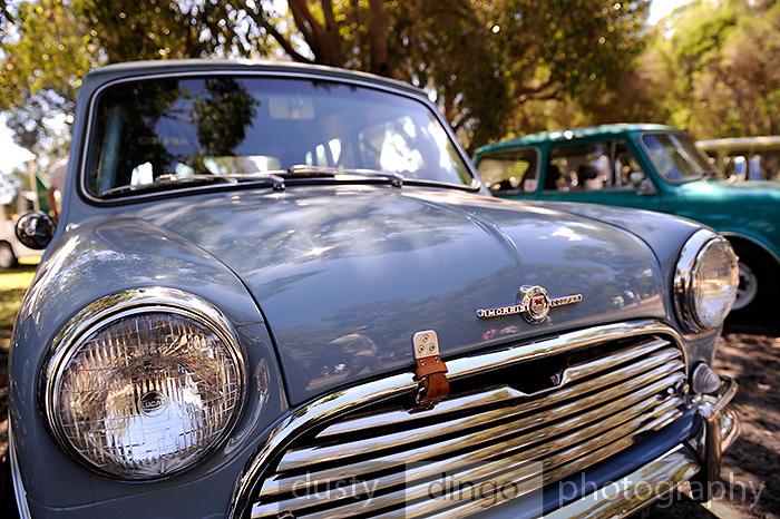Morris Mini Cooper S 2011 Classic Car Show, Whiteman Park, Perth, Western Australia. March 20, 2011