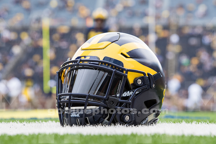 The University of Michigan Wolverines defeat the Colorado Buffaloes, 45-28, at Michigan Stadium in Ann Arbor, MI on Sep. 17, 2016.