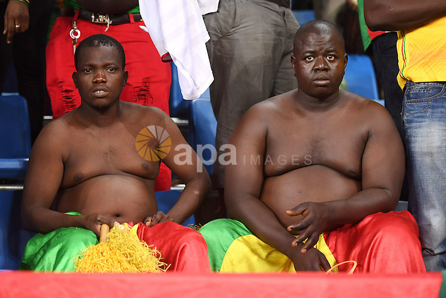 Mali supporters attend the 2017 Africa Cup of Nations group D football match between Mali and Egypt in Port-Gentil on January 17, 2017. Photo by Stranger