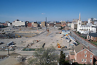 1997 March 07..Redevelopment..Macarthur Center.Downtown North (R-8)..LOOKING WEST...NEG#.NRHA#..