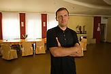 Siergiej Sokolov, Refugee Center Grotniki. 2015.07.30. Grotniki, near Łódź. Poland