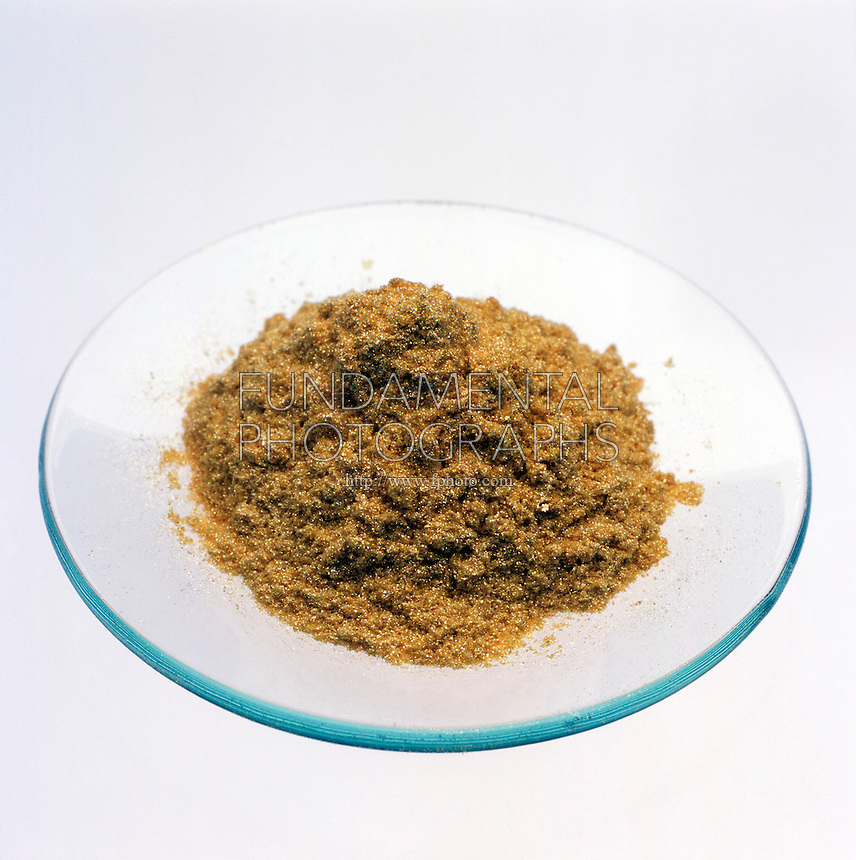 SAMPLE OF GOLD POWDER<br />