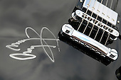 Signature of Jimmy Page, Led Zepellin guitarist.