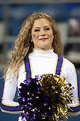 Sept 01, 2012:  Washington cheerleader Hannah Tripp against San Diego State.  Washington defeated San Diego State 21-12 at CenturyLink Field in Seattle, Washington...