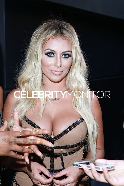UNIVERSAL CITY, CA, USA - JULY 10: Aubrey O'Day of Danity Kane attends Universal CityWalk's 'Music Spotlight Series' at Universal CityWalk on July 10, 2014 in Universal City, California, United States. (Photo by David Acosta/Celebrity Monitor)