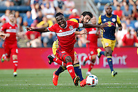 Bridgeview, IL - Sunday, July 31, 2016: The Chicago fire played the New York Red Bulls at Toyota Park in Bridgeview, IL.  The Chicago Fire played to a draw with the New York Red Bulls with the score of 2-2.