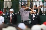 2nd Round Action from Quail Hollow Championship/Charlotte, NC /Sport/Jim Dedmon/Tiger Woods leads Quail Hollow, Quail Hollow Championship