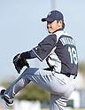 Hisashi Iwakuma (Mariners).FEBRUARY 13, 2012 - MLB : Seattle Mariners pitcher Hisashi Iwakuma of Japan trains during team's spring training baseball camp in Peoria, Arizona..(Photo by AFLO)