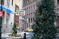 Killarney Rose bar in Lower Manhattan in New York is seen on Monday, January 2, 2012. (© Richard B. Levine)