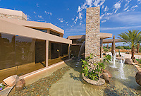 Waterfeatures of ultra modern home