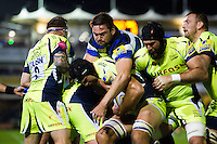 Elliott Stooke of Bath Rugby in action. Aviva Premiership match, between Bath Rugby and Sale Sharks on October 7, 2016 at the Recreation Ground in Bath, England. Photo by: Patrick Khachfe / Onside Images