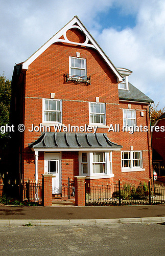 Three storey detached house, Guildford, Surrey.