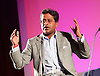 Lalit Modi speaking at a Q &amp; A at the London Indian Film Festival 2015, BFI, Southbank, London, Great Britain <br /> 23rd July 2015 <br /> following the world premier screening of Death of a Gentleman - a controversial documentary film about the future of Test Cricket, <br /> <br /> Lalit Modi is an Indian businessman and cricket administrator. He was the first Chairman and Commissioner of the Indian Premier League, and ran the tournament for three years until 2010. <br /> <br /> Photograph by Elliott Franks