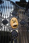 Mexico, Mexico City, Chapultepec Castle, Front Gate