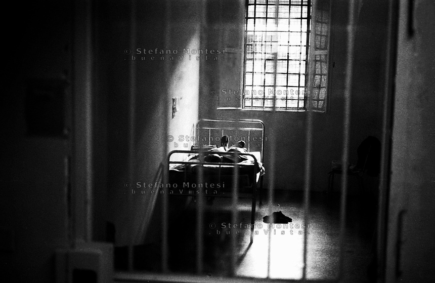 Roma 2000.Carcere di Regina Coeli  .Centro Clinico. Regina Coeli (Queen of Heaven) Prison..Center clinical