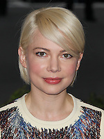 """NEW YORK CITY, NY, USA - MAY 05: Michelle Williams at the """"Charles James: Beyond Fashion"""" Costume Institute Gala held at the Metropolitan Museum of Art on May 5, 2014 in New York City, New York, United States. (Photo by Xavier Collin/Celebrity Monitor)"""