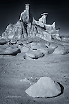 Hoodoo Bluff, Bisti Badlands, New Mexico