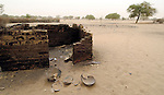 Not much remains in the town of Labado, where residents fled in December 2004 under attack from the Sudanese military and Arab militias.