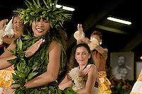Merrie Monarch Hula festival dancers 2006