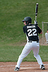 Josh Morcom bats during the third inning of the Vale - Weiser game on April 7, 2012 at Walter Johnson Memorial Field in Weiser, Idaho. Vale scored four runs in the third on the way to a five inning 12-0 win. Morcom went 0 for 2, with two walks and two runs.