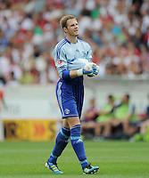 FUSSBALL   1. BUNDESLIGA  SAISON 2011/2012   1. Spieltag     06.08.2011 VfB Stuttgart - FC Schalke 04               Torwart Ralf Faehrmann (FC Schalke 04)