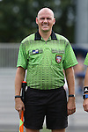 06 September 2015: Assistant Referee Matheu Beckler. The Duke University Blue Devils hosted the University of California Bears at Koskinen Stadium in Durham, NC in a 2015 NCAA Division I Women's Soccer match. California won the game 3-1.