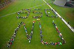 350 Foto Amsterdam Museumplein - Climate Aerial and March