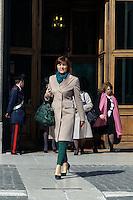 Roma 16 Marzo2013.Montecitorio, secondo giorno della  XVII legislatura..Renata Polverini, deputato del Il Popolo della Libertà.
