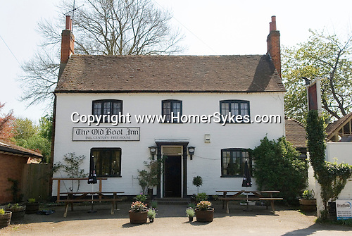 BUCKLEBURY. The Old Boot Inn Stanford Dingley Berkshire Uk Where Kate Middleton and prince William drank and eat pub meals when they were courting. The local public house near Middleton family home in Bucklebury.