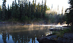 Wilderness Inquiry Grass River trip in northern Manitoba, Canada, July 31-August 8, 2010...Kanisota Falls