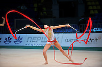 "ANZHELIKA SAVRAYUK performs with Italian senior group at 2011 World Cup Kiev, ""Deriugina Cup"" in Kiev, Ukraine on May 7, 2011."